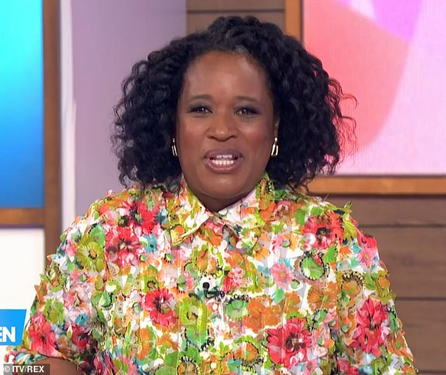CONFIRMED! Charlene White has been unveiled as Loose Women 's newest anchor.