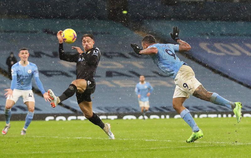 © Reuters. Premier League - Manchester City v Aston Villa
