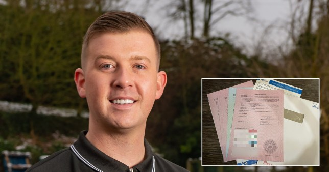 Thomas Dodd, 30, from Tamworth, Staffordshire, who decided to change his name to Celine Dion after having too much to drink