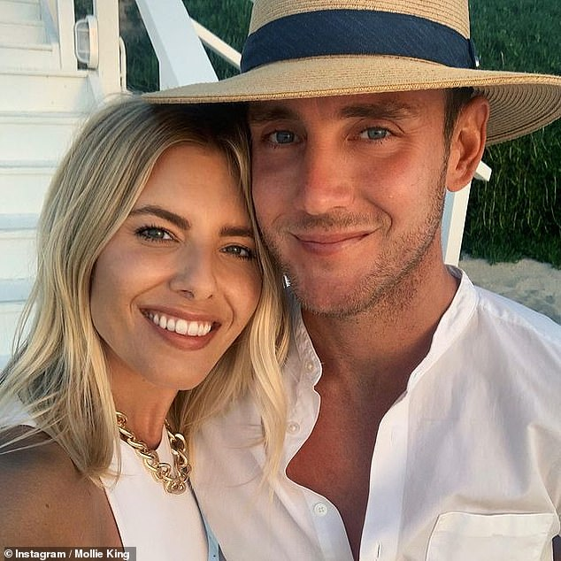 Very rich!Mollie King and her cricketer fiancé Stuart Broad reportedly boast a combined fortune of £20 million