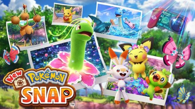 New Pokémon Snap key art