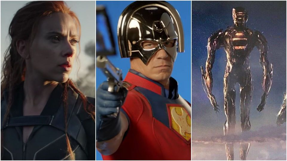 Black Widow, The Suicide Squad and Eternals