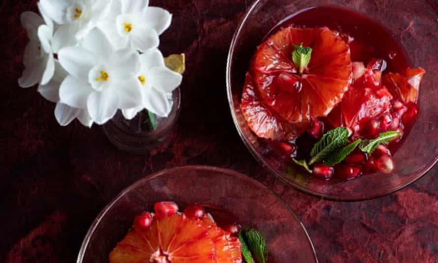 Blood orange, pomegranate and orange blossom