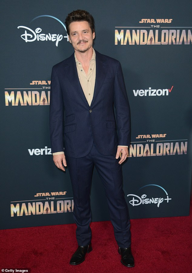 Calling him up: Pedro Pascal, 45, shared the office number for Texas Senator Ted Cruz on Saturday after the Republican was blamed by many on social media for inciting the violent Capitol Hill insurrection that left five people dead; seen in November 2019 in LA