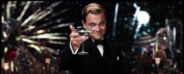 Leonardo DiCaprio in Great Gatsby trailer