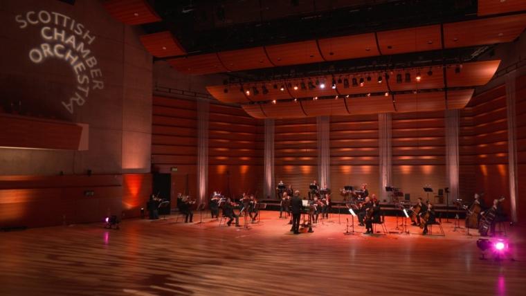 Scottish Chamber Orchestra and Katie Bray (Photo: Sco.org.uk)