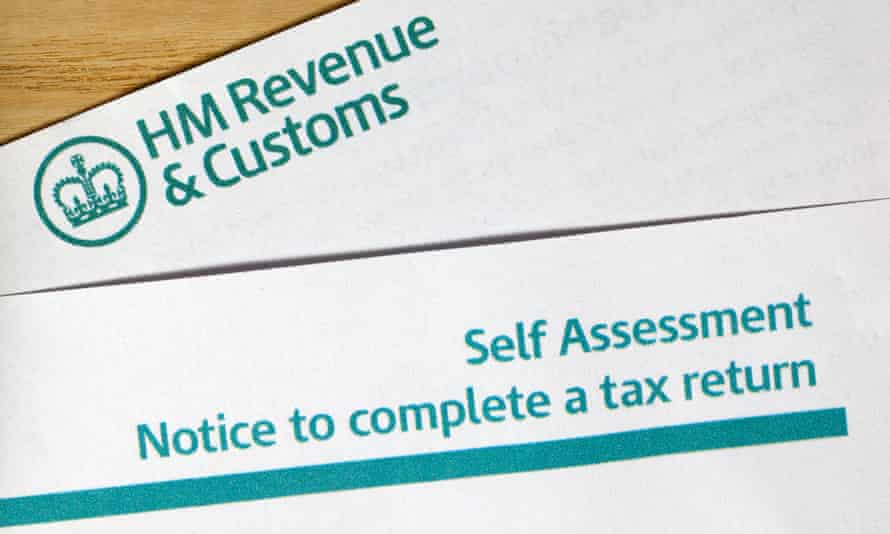 Self-assessment notice to complete a tax return