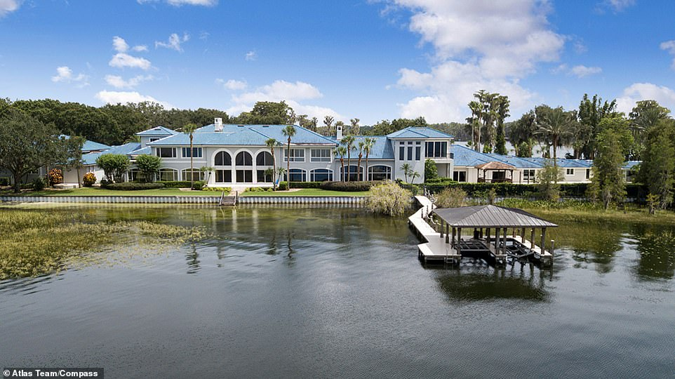 Moving on: Shaquille O'Neal, 48, sold his Orlando, Florida, mega-mansion for $16.5 million after relisting it four times, Mansion Global reported