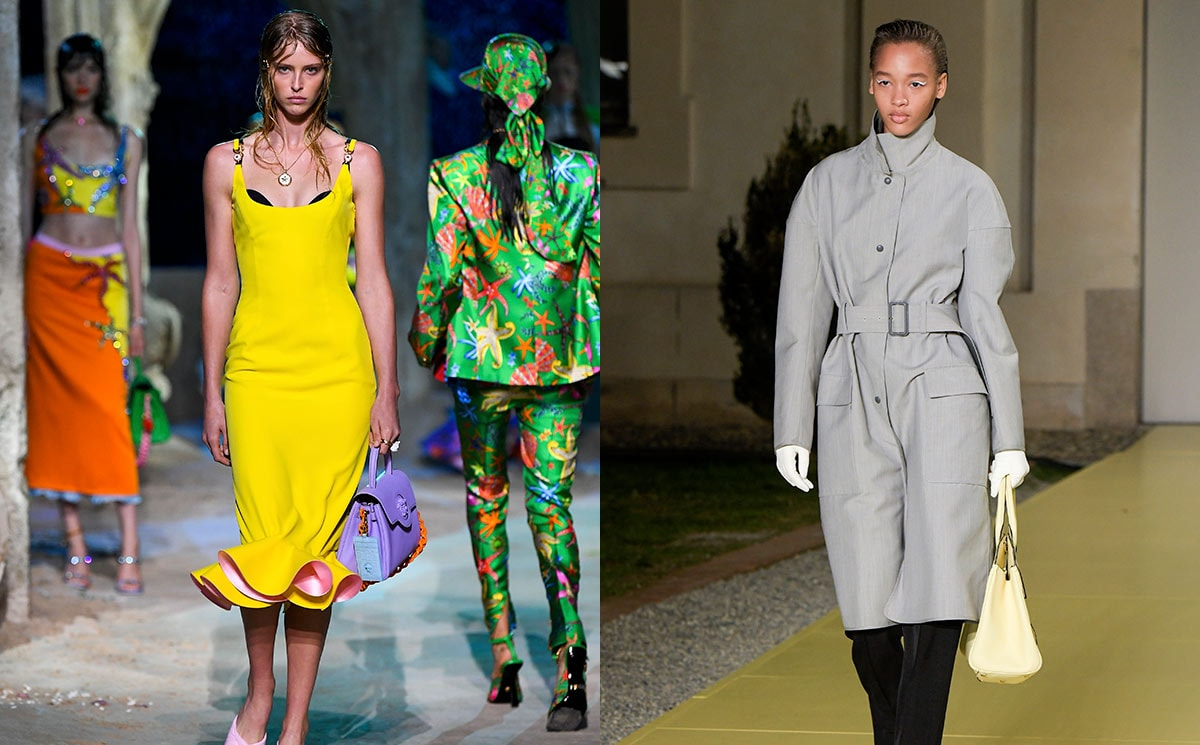 Spotted on the catwalk: Pantone's colors of the year 2021