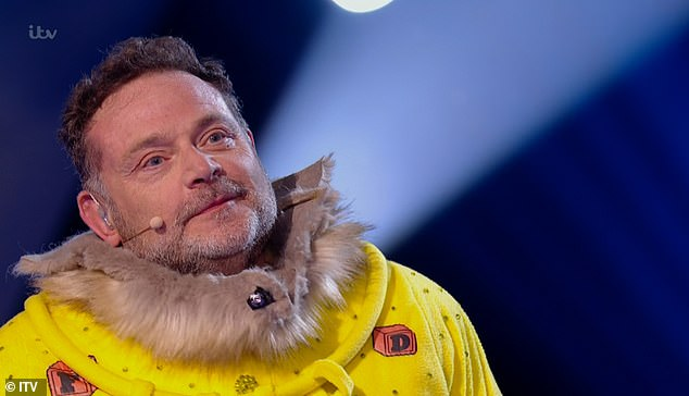 Look who it is!Actor John Thomson was revealed to be Bush Baby after becoming the latest character to be eliminated from The Masked Singer UK on Saturday