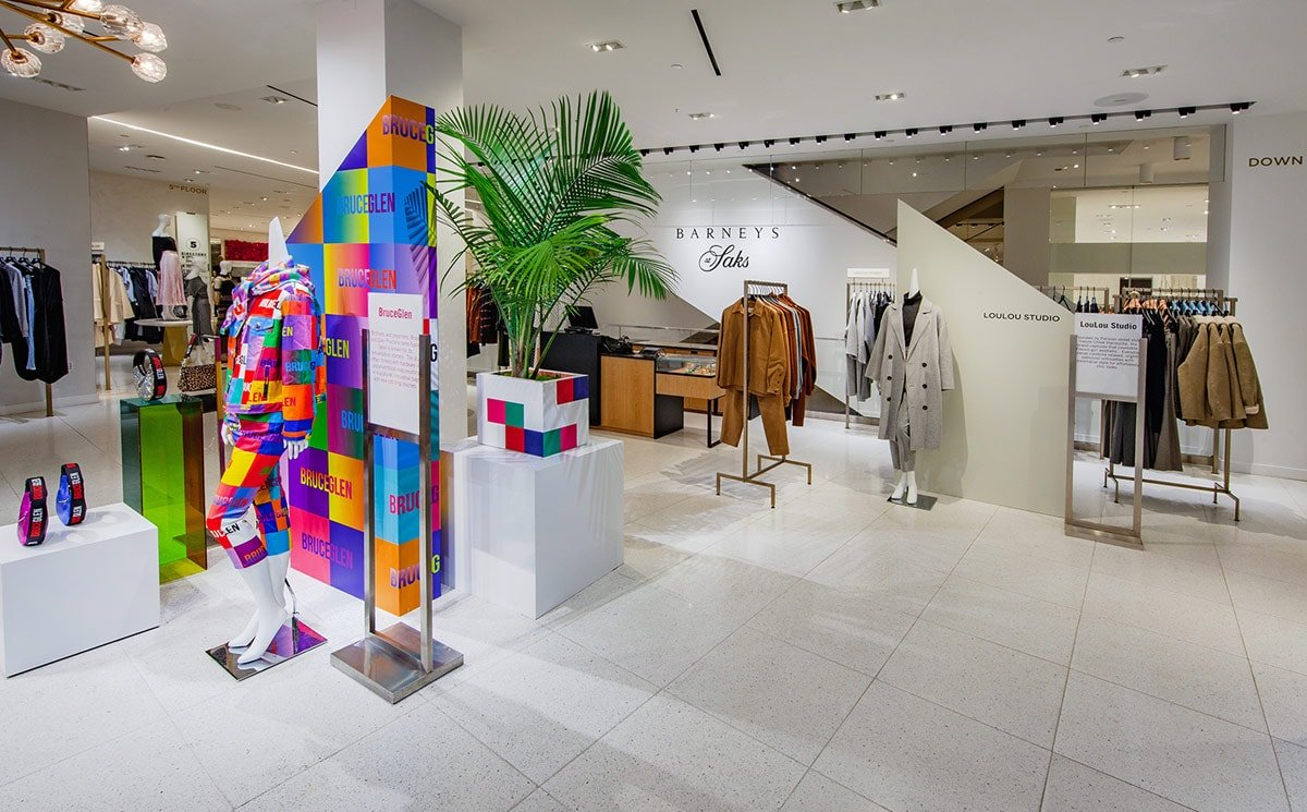 The first 'Barneys at Saks' opens at Saks Fifth Avenue flagship