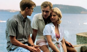 Matt Damon, Jude Law and Gwyneth Paltrow in The Talented Mr Ripley (1999), which was shot on the island.