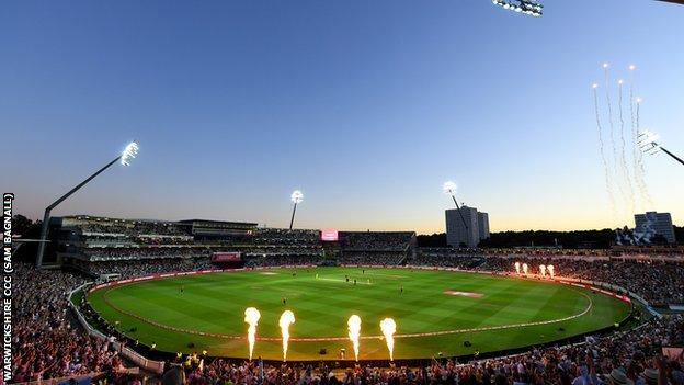 Warwickshire hope to see Edgbaston full to its 25,000 capacity again at some point in 2021