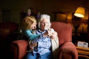 13 May – Kate Holt at home in Kentmere, Cumbria, with her mother, Shirley, who she rescued from a care home