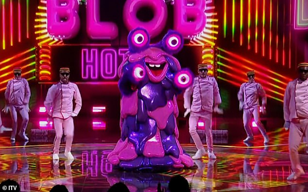 Who is it?Blob kicked off the show with a telling rendition of Hotel Room Service by Pitbull