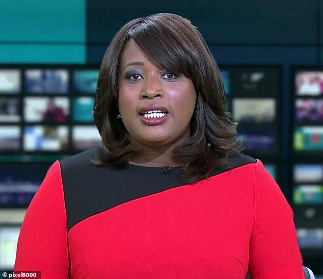 Starring role:In May 2019, Charlene was announced as lead presenter of ITV News London's main 6pm programme and continues to front ITV News (pictured in 2013)