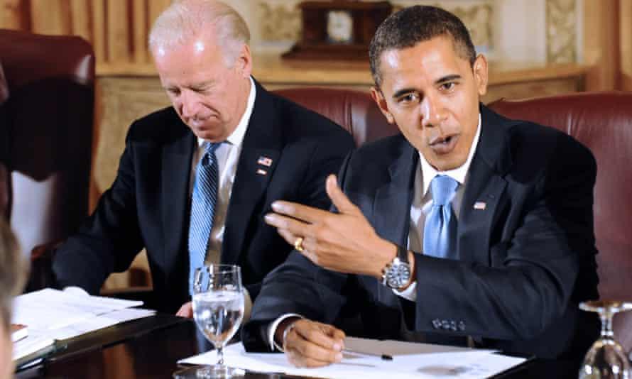 Obama and Biden in 2008.