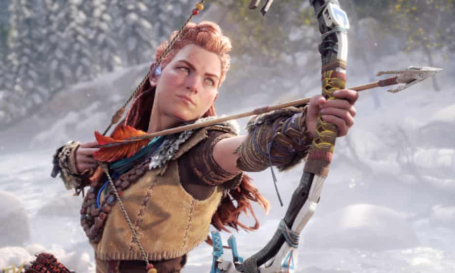 Back to the future ... Horizon Forbidden West's Aloy.