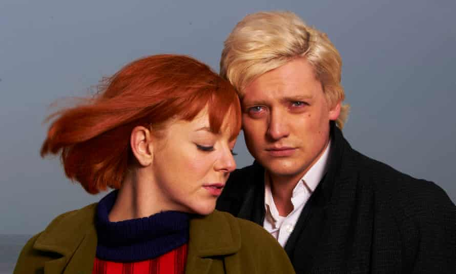 Lorra songs … Smith as Cilla with Aneurin Barbard as Bobby Willis.