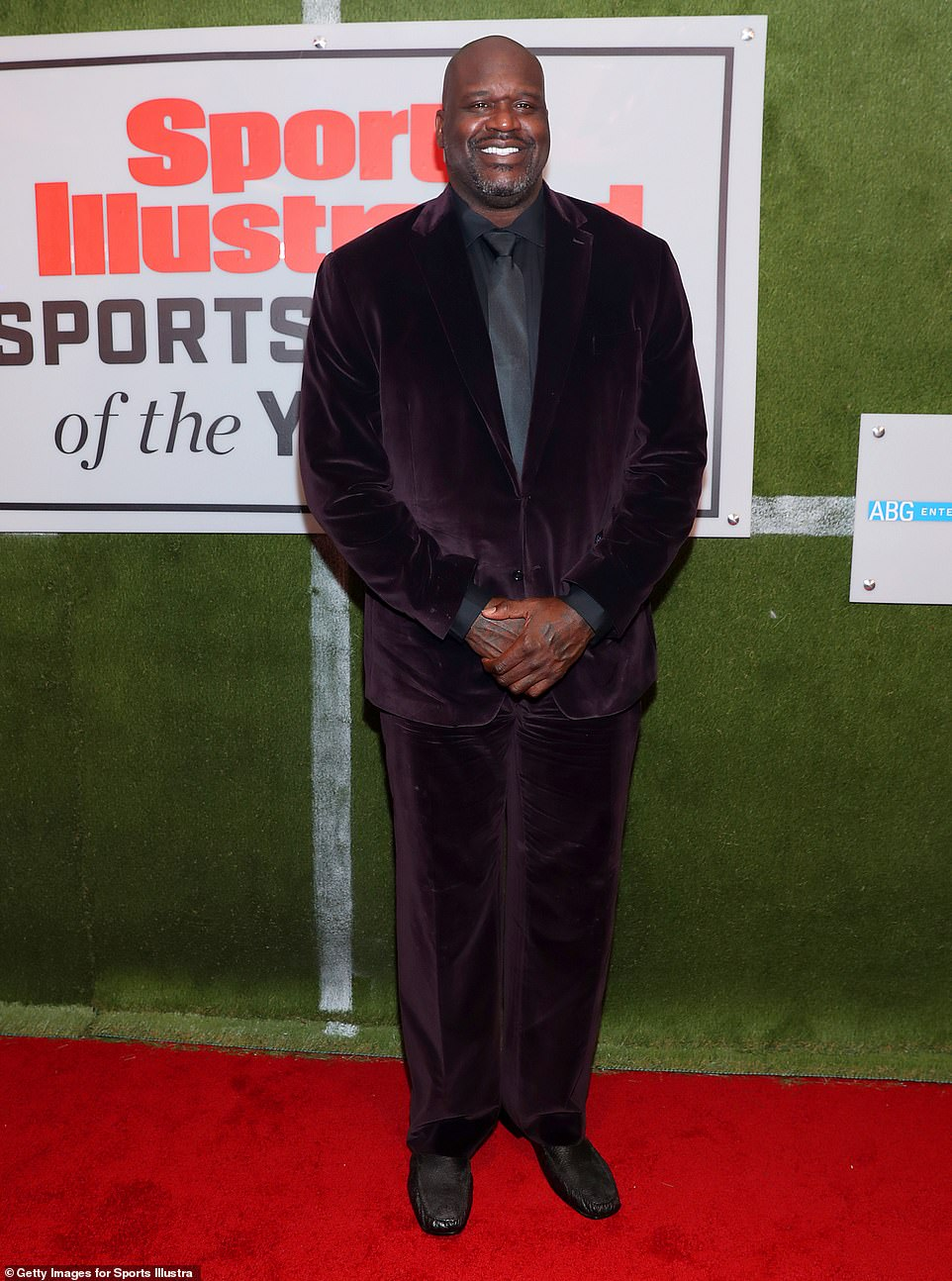 Top of the world: O'Neal is best known for his stint with the Los Angeles Lakers from 1996 to 2004, when he and Kobe Bryant were teammates; seen in 2019 in NYC