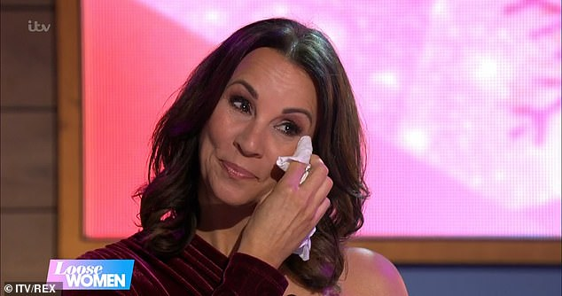 Leaving party: Saira's announcement comes just two weeks after Andrea McLean also departed from the show after 13 years (pictured)