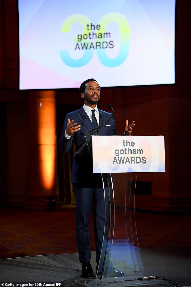 Presenter:Andre Holland took to the stage to present the tribute to Chadwick Boseman, who, like Holland himself, found his way to New York around the same time