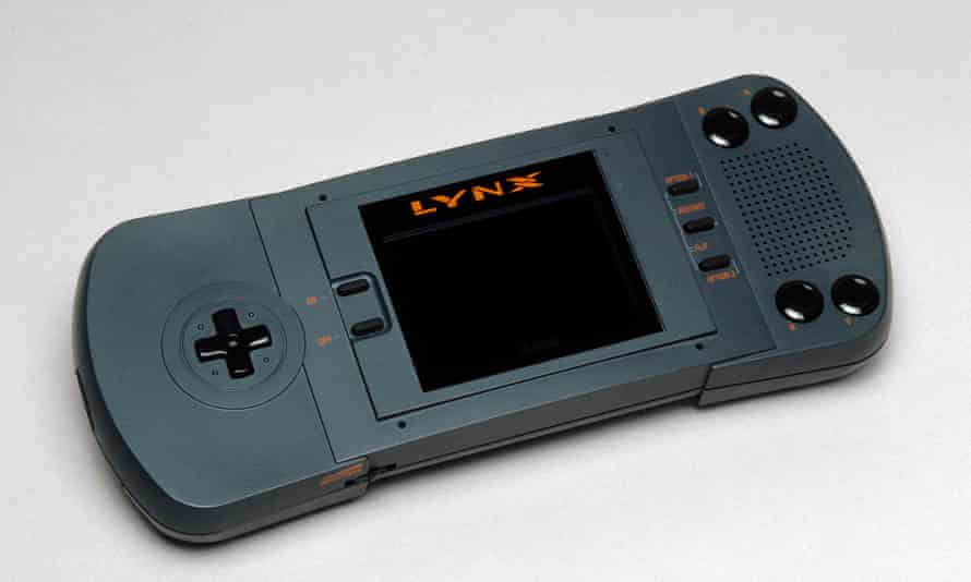 First in full colour ... Atari Lynx, 1989.