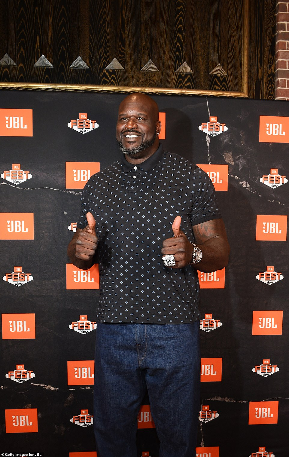 Still fresh: Shaq purchased the home in 1993, just three years after it was built; seen in 2019