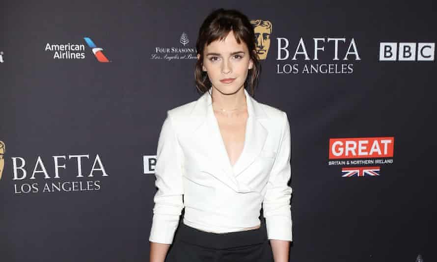 Emma Watson at a Bafta party