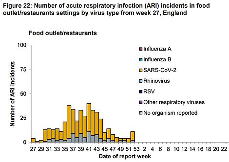 Covid-19 outbreaks in pubs and restaurants