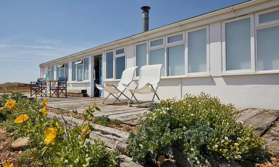 sunray cottage exterior with beach