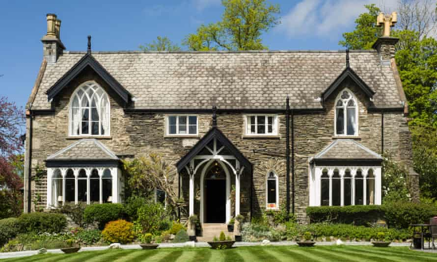 The Cedar Manor hotel, in Windermere, which holds Green Tourism gold accreditation
