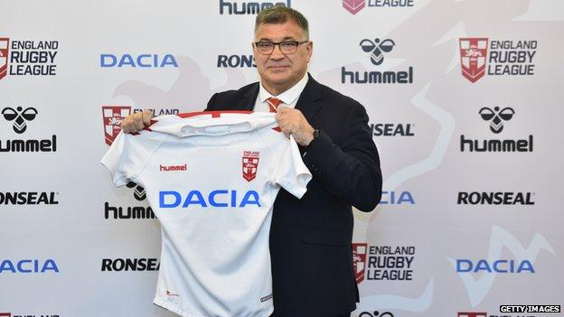 Shaun Wane was appointed England head coach in February 2020