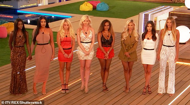 Former co-stars: Lucie and Yewande appeared on Love Island together in 2019 alongside Amy Hart and winner Amber Gill, who have both commented in defence of Yewande this week