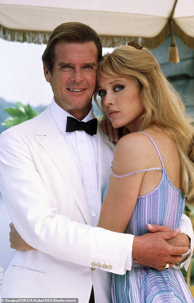 Roberts is is best known for appearing opposite Roger Moore in the 1985 Bond film A View To Kill (pictured)