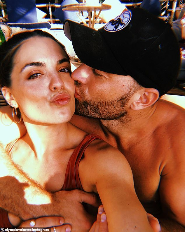 Where it all began: Olympia and Thomas began dating in June 2019 after meeting him on the ultra-exclusive celebrity dating app, Raya