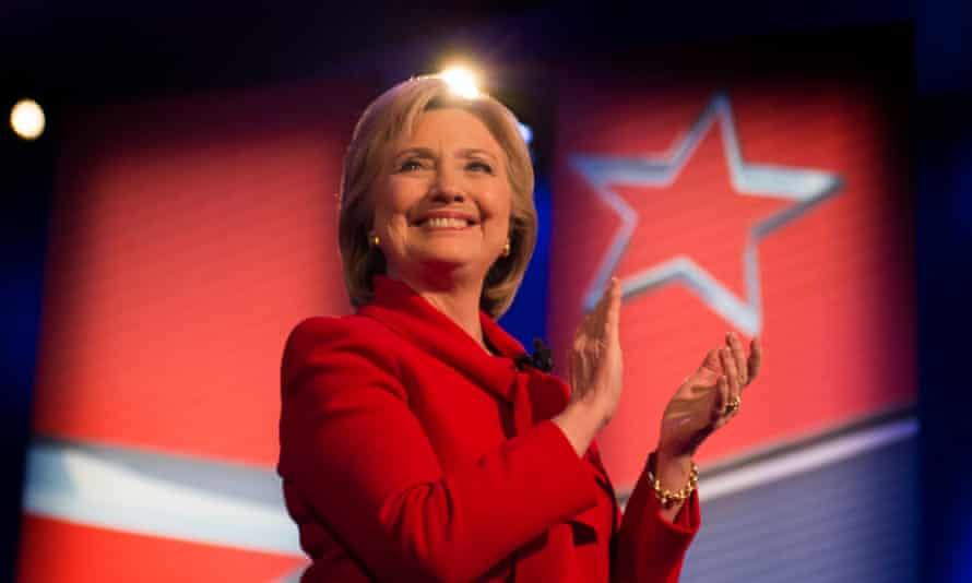 Hillary Clinton in Des Moines, Iowa, in 2016.