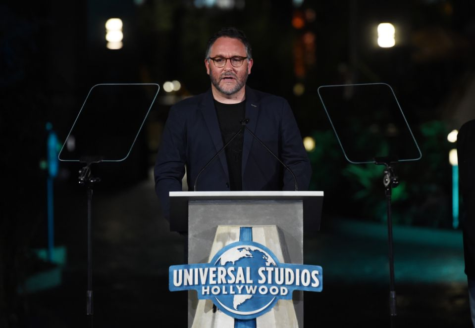"UNIVERSAL CITY, CALIFORNIA - JULY 22: Colin Trevorrow attends the grand opening celebration of Universal Studios Hollywood's ""Jurassic World-The Ride"" at Universal Studios Hollywood on July 22, 2019 in Universal City, California. (Photo by Amanda Edwards/WireImage)"