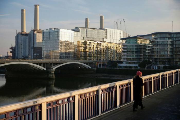 The Nine Elms development in Battersea, south London