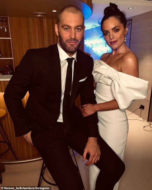 Nuptials: Thomas didn't reveal any details about the couple's upcoming wedding, but hinted it wouldn't be until 2022 as the hair treatments are expected to go for 12 months