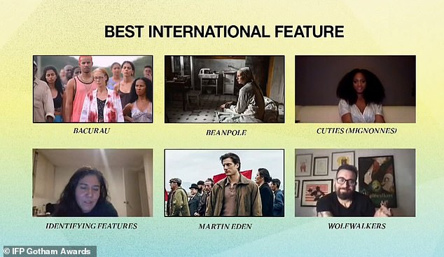 International:The Mustang director Laure de Clermont-Tonnerre presented the Best International Feature award, marking the first time the Gotham Awards has celebrated international films