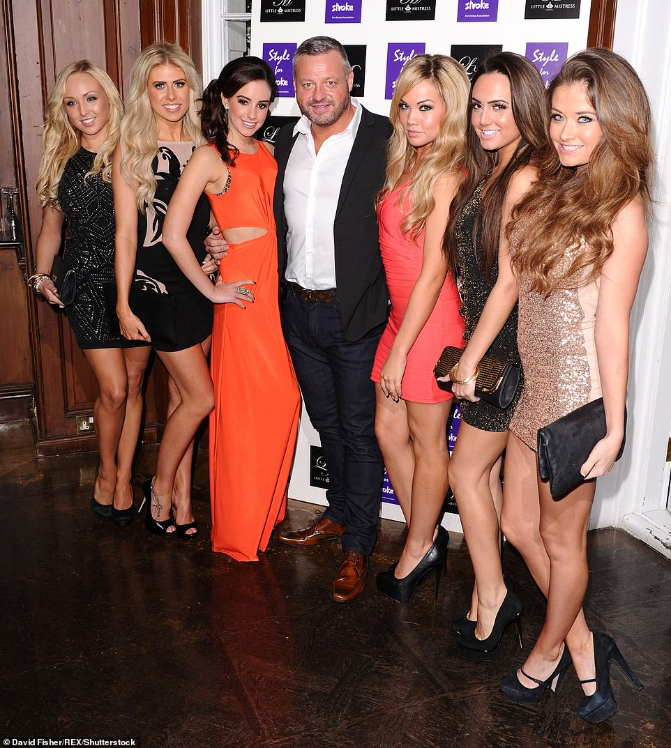 Nightclub owner: The businessman rose to fame as the owner of Sugar Hut nightclub on the ITV series The Only Way Is Essex (pictured in 2012)