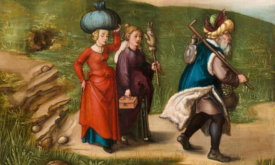 Sister act ... Albrecht Dürer's Lot and His Daughters.