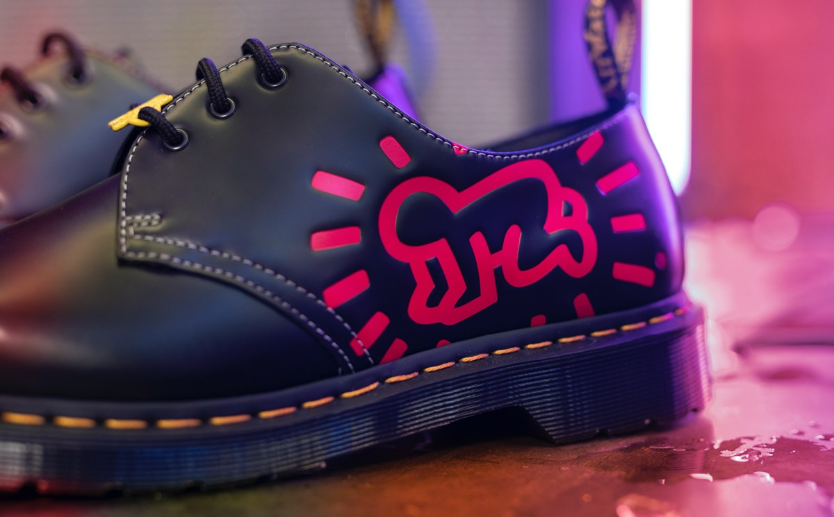 Dr. Martens collaborates with Keith Haring