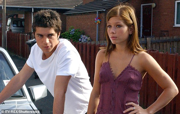 Questions:The actress, 36, said she'd 'never say never' to the prospect of reprising her role, 16 years after her exit (pictured on Corrie in 2005)