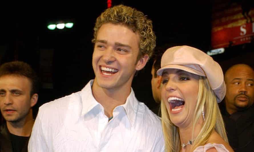 Justin Timberlake and Britney Spears in 2002