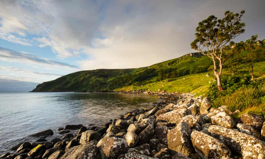 Murlough Bay, Country Antrim, near the coastal town of Ballycastle.