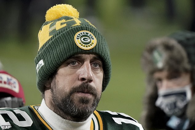 Wedding bells:NFL star Aaron Rodgers (seen here in January) dropped a MAJOR bomb on Saturday night when he accepted the 2020 NFL Most Valuable Player award and thanked...