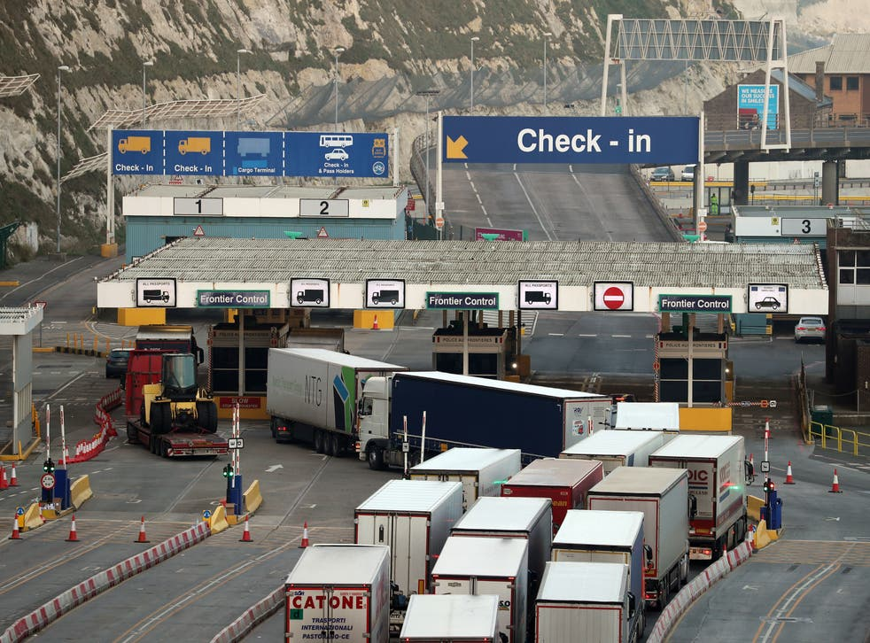 <p>Port of Dover needs new infrastructure for extra checks</p>
