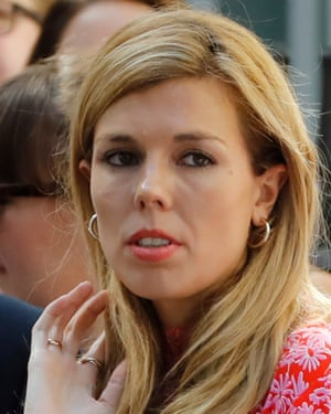 Carrie Symonds is now communications director of the Aspinall Foundation.